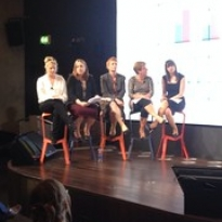 """Speakers: Una Carmody (Arts Audiences) and Karl Ryan (Google mentor) Charlotte Eglinton (Irish Chamber Orchestra), Caithriona Murphy (Irish Chamber Orchestra), Sile Boylan (National Gallery), Niamh Honer (Civic Theatre) and Niamh Byrne (Civic Theatre) • <a style=""""font-size:0.8em;"""" href=""""http://www.flickr.com/photos/124633278@N08/14168951316/"""" target=""""_blank"""">View on Flickr</a>"""
